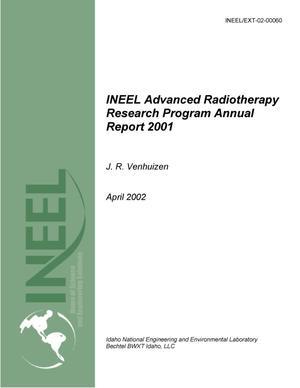 Primary view of object titled 'INEEL Advanced Radiotherapy Research Program Annual Report 2001'.