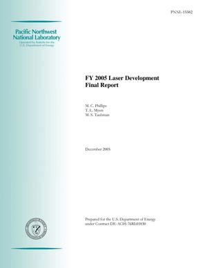 Primary view of object titled 'FY 2005 Laser Development Final Report'.