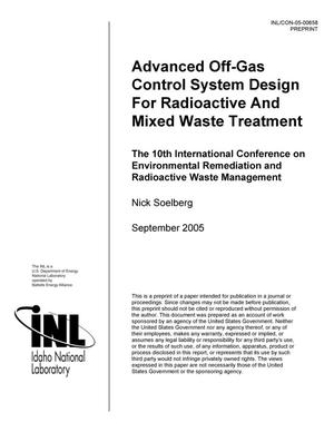 Primary view of object titled 'Advanced Off-Gas Control System Design For Radioactive And Mixed Waste Treatment'.