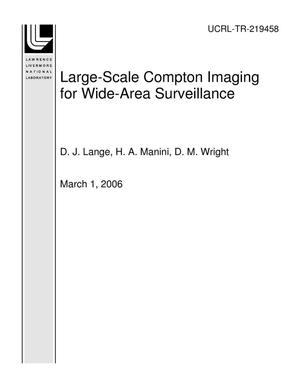Primary view of object titled 'Large-Scale Compton Imaging for Wide-Area Surveillance'.