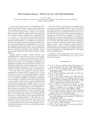 Primary view of object titled 'Solving time-dependent operator equations for nanoscale physics'.