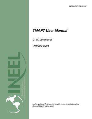 Primary view of object titled 'TMAP7 User Manual'.