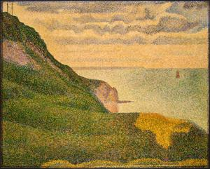 Primary view of object titled 'Seascape at Port-en-Bessin, Normandy'.