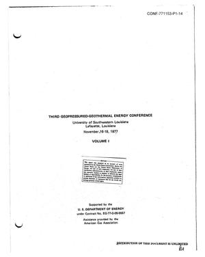 Primary view of object titled 'Natural gas content of geopressured aquifers'.