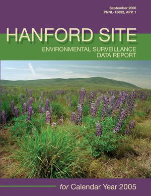 Primary view of object titled 'Hanford Site Environmental Surveillance Data Report for Calendar Year 2005'.