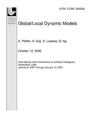Primary view of object titled 'Global/Local Dynamic Models'.