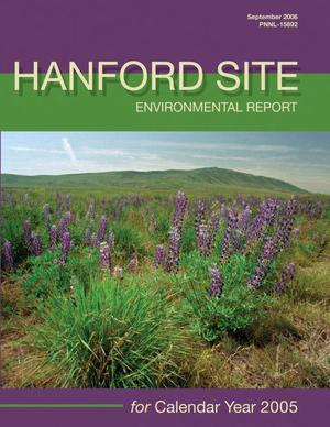 Primary view of object titled 'Hanford Site Environmental Report for Calendar Year 2005'.