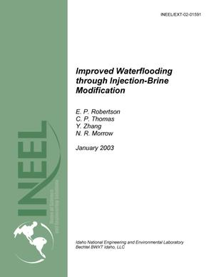 Primary view of Improved Water Flooding through Injection Brine Modification