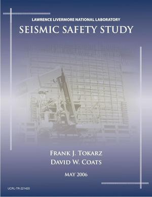 Primary view of object titled 'Seismic Safety Study'.