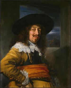 Primary view of Portrait of a Member of the Haarlem Civic Guard