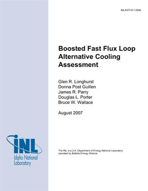 Primary view of object titled 'Boosted Fast Flux Loop Alternative Cooling Assessment'.