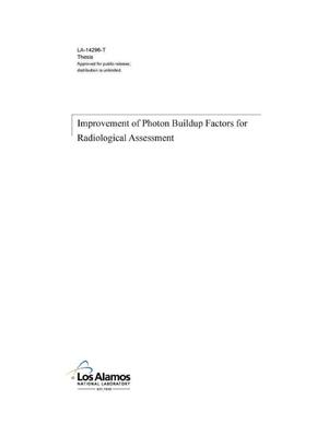 Primary view of object titled 'Improvement of Photon Buildup Factors for Radiological Assessment'.