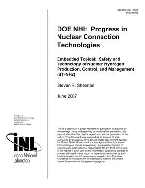 Primary view of object titled 'DOE NHI: Progress in Nuclear Connection Technologies'.