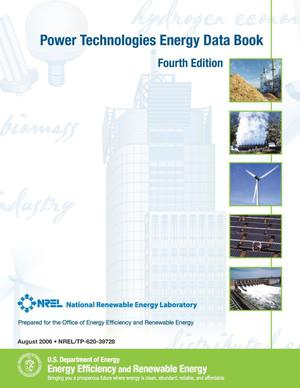 Primary view of object titled 'Power Technologies Energy Data Book - Fourth Edition'.