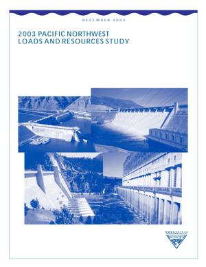 Primary view of object titled '2003 Pacific Northwest Loads and Resources Study.'.