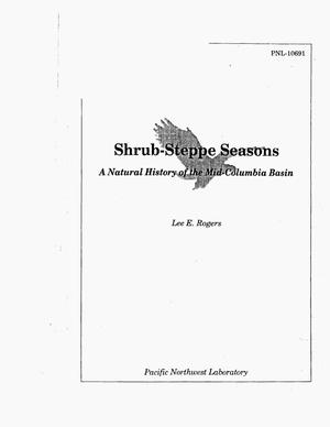 Primary view of Shrub-Steppe Seasons A Natural History of the Mid-Columbia Basin