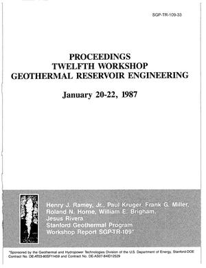 Primary view of object titled 'Analysis of Injection-Backflow Tracer Tests in Fractured Geothermal Reservoirs'.
