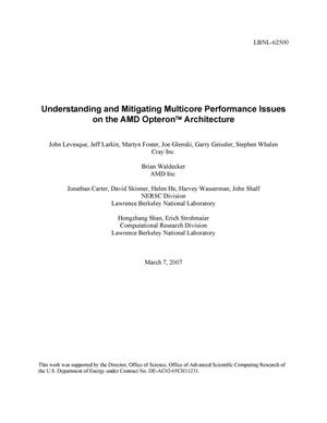 Primary view of object titled 'Understanding and Mitigating Multicore Performance Issues on theAMD Opteron Architecture'.