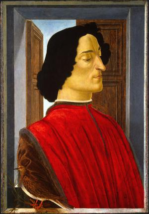 Primary view of object titled 'Giuliano de' Medici'.