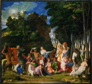 Primary view of The Feast of the Gods