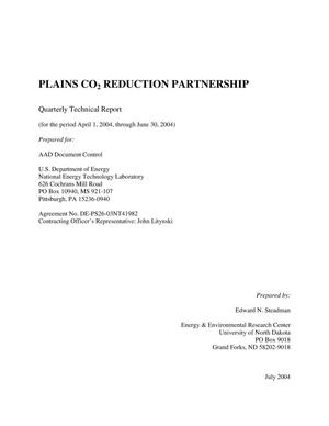 Primary view of object titled 'PLAINS CO2 REDUCTION PARTNERSHIP'.