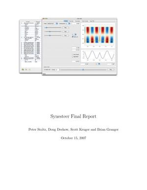 "Primary view of object titled 'Final Report for ""User Friendly Steering and Diagnostics for Modleing Heavy Ion Fusion Accelerators""'."