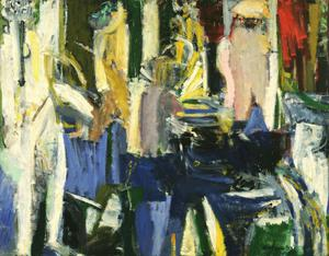 Primary view of object titled 'River Bathers'.