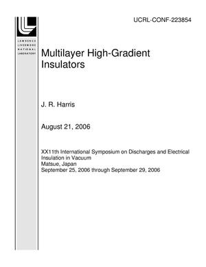 Primary view of object titled 'Multilayer High-Gradient Insulators'.