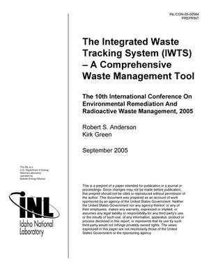 Primary view of object titled 'The Integrated Waste Tracking Systems (IWTS) - A Comprehensive Waste Management Tool'.