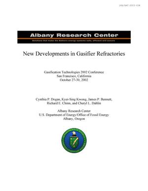 Primary view of object titled 'New developments in gasifier refractories'.