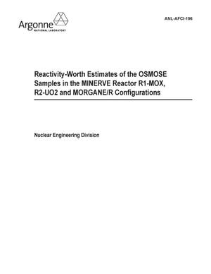 Primary view of object titled 'Reactivity-worth estimates of the OSMOSE samples in the MINERVE reactor R1-MOX, R2-UO2 and MORGANE/R configurations.'.