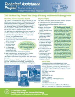 Primary view of object titled 'Take the Next Step Toward Your Energy Efficiency and Renewable Energy Goals (Revised)'.
