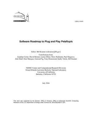 Primary view of object titled 'Software Roadmap to Plug and Play Petaflop/s'.