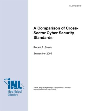 Primary view of object titled 'A Comparison of Cross-Sector Cyber Security Standards'.