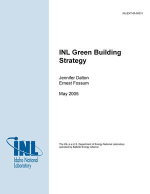 Primary view of object titled 'INL Green Building Strategy'.