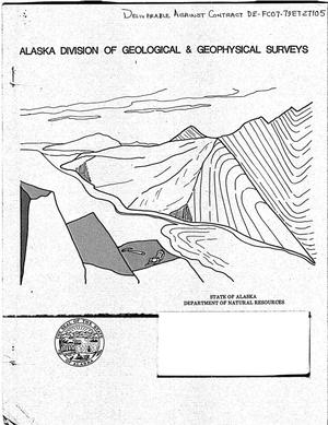 Primary view of object titled 'Alaska Open-File Report 127 Assessment of Thermal Springs Sites in Southern Southeastern Alaska - Preliminary Results and Evaluation'.