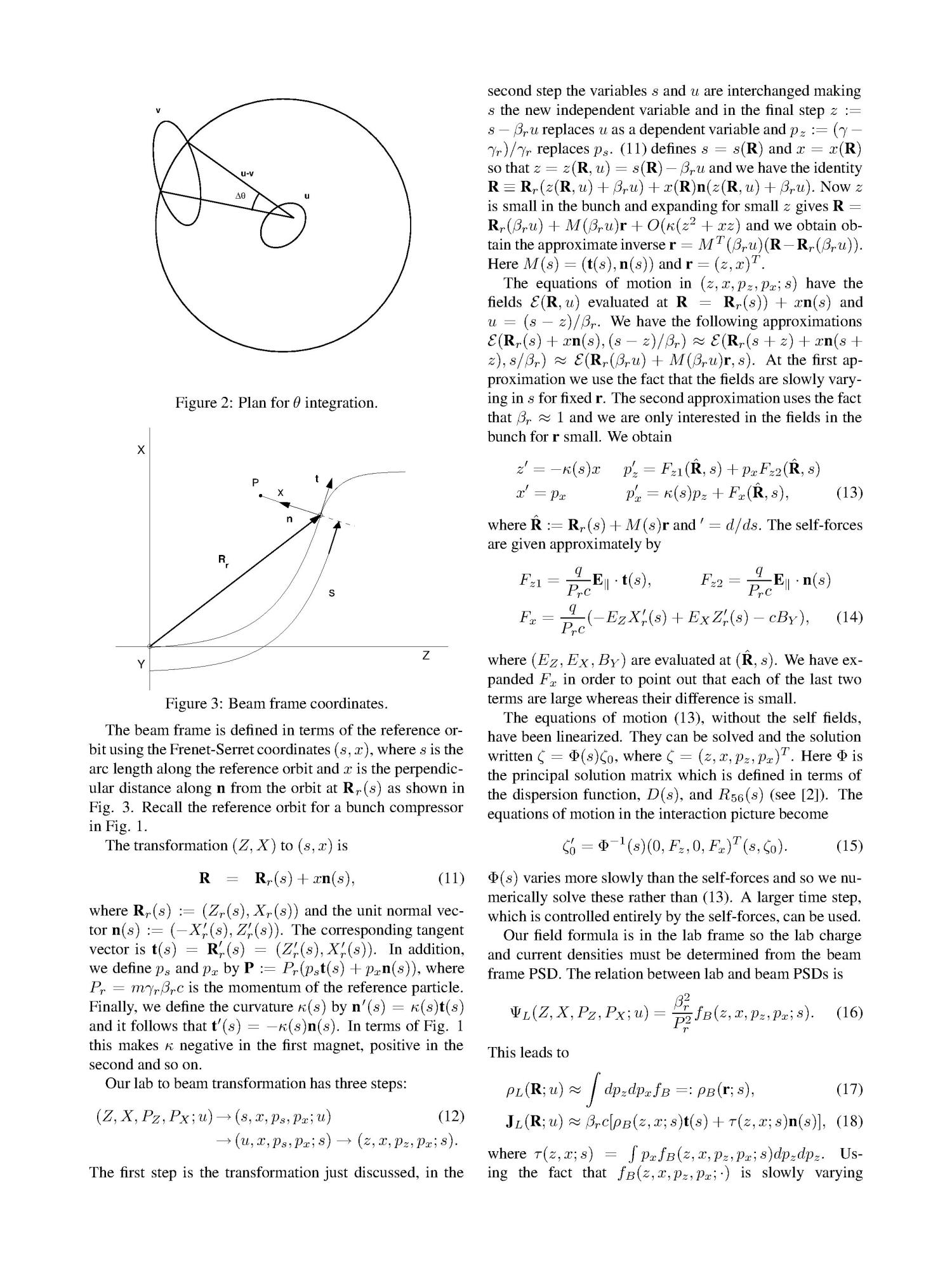 Self-Consistent Computation of Electromagnetic Fields and Phase Space Densities for Particles on Curved Planar Orbits                                                                                                      [Sequence #]: 3 of 5