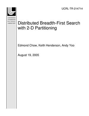 Primary view of object titled 'Distributed Breadth-First Search with 2-D Partitioning'.