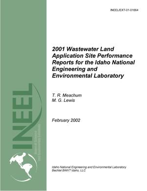 Primary view of object titled '2001 Wastewater Land Application Site Performance Reports for the Idaho National Engineering and Environmental Laboratory'.