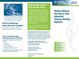 Primary view of object titled 'Reduce Natural Gas Use in Your Industrial Process Heating Systems'.