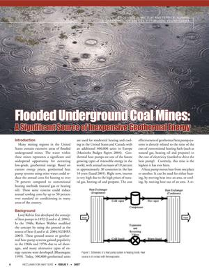 Primary view of object titled 'Flooded Underground Coal Mines: A Significant Source of Inexpensive Geothermal Energy'.