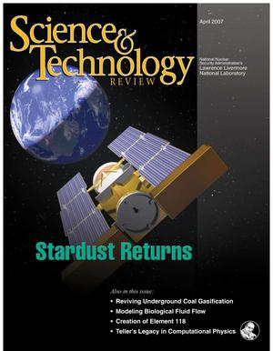 Primary view of object titled 'Science & Technology Review April 2007'.