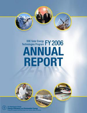 Primary view of object titled 'DOE Solar Energy Technologies Program FY 2006 Annual Report'.