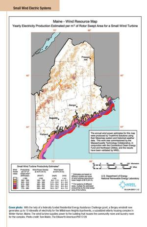 Small Wind Electric Systems: A Maine Consumer's Guide - Digital Library