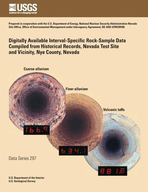 Primary view of object titled 'Digitally Available Interval-Specific Rock-Sample Data Compiled from Historical Records, Nevada Test Site and Vicinity, Nye County, Nevada.'.