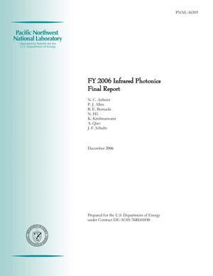 Primary view of object titled 'FY 2006 Infrared Photonics Final Report'.