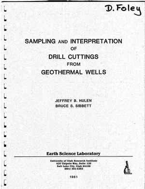 Primary view of object titled 'Sampling and Interpretation of Drill Cuttings from Geothermal Wells'.
