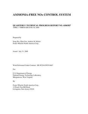 Primary view of object titled 'Ammonia-Free NOx Control System'.