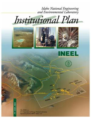 Primary view of object titled 'INEEL Institutional Plan - FY 2000-2004'.