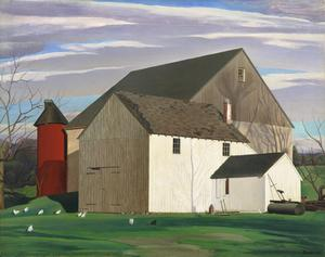 Primary view of object titled 'Bucks County Barn'.